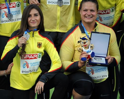 DLV bei der Team-EM auf dem zweiten Platz - fünf HLV-Athleten sammelten eifrig Punkte für die deutsche Mannschaft